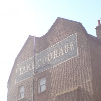 take courage three